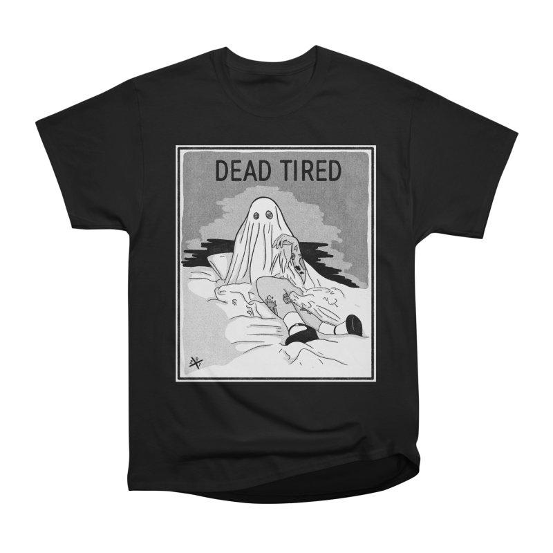 DEAD TIRED Men's T-Shirt by ZOMBIETEETH