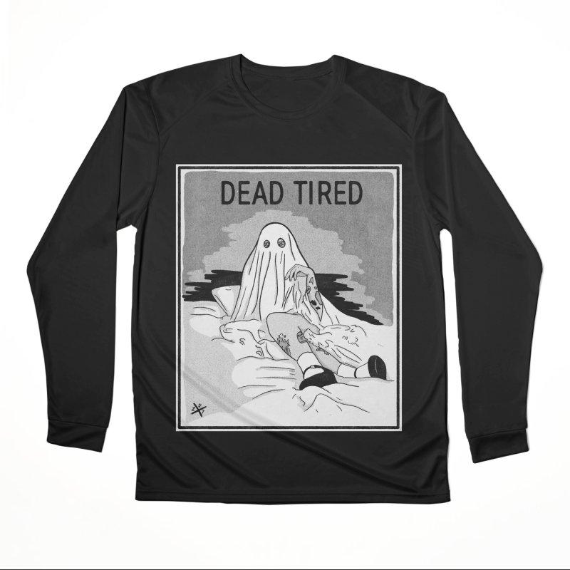 DEAD TIRED Women's Longsleeve T-Shirt by ZOMBIETEETH