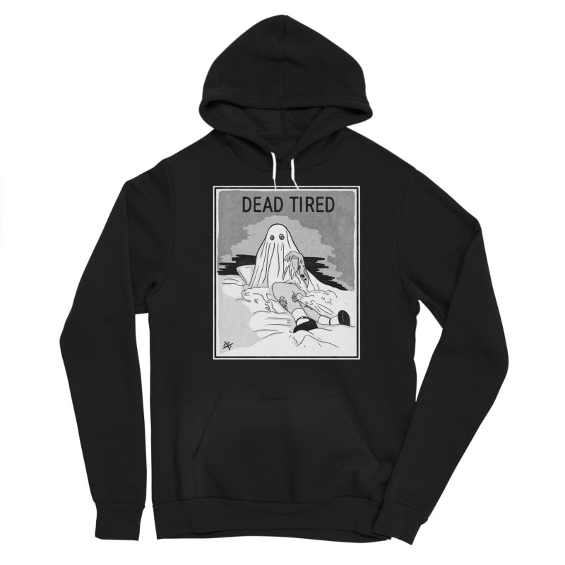 DEAD TIRED Men's Pullover Hoody by ZOMBIETEETH