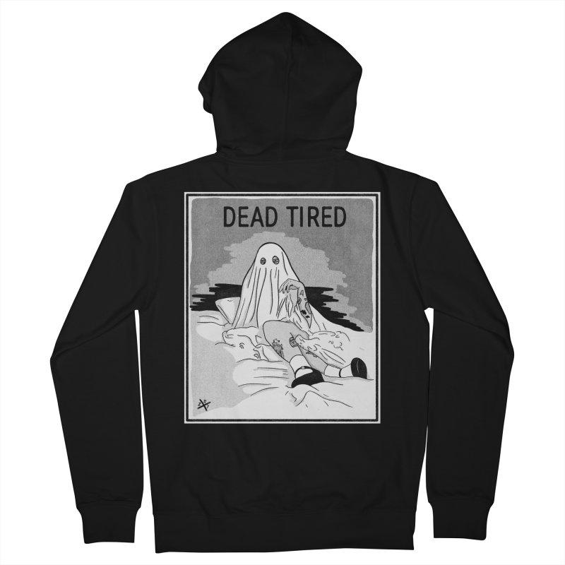 DEAD TIRED Women's Zip-Up Hoody by ZOMBIETEETH