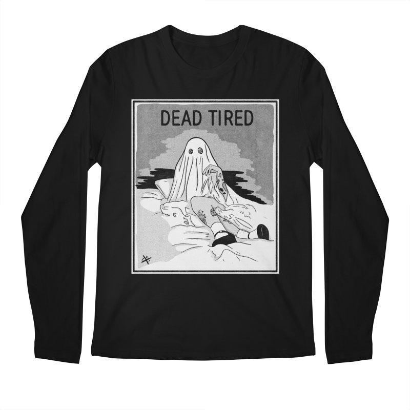 DEAD TIRED Men's Longsleeve T-Shirt by ZOMBIETEETH