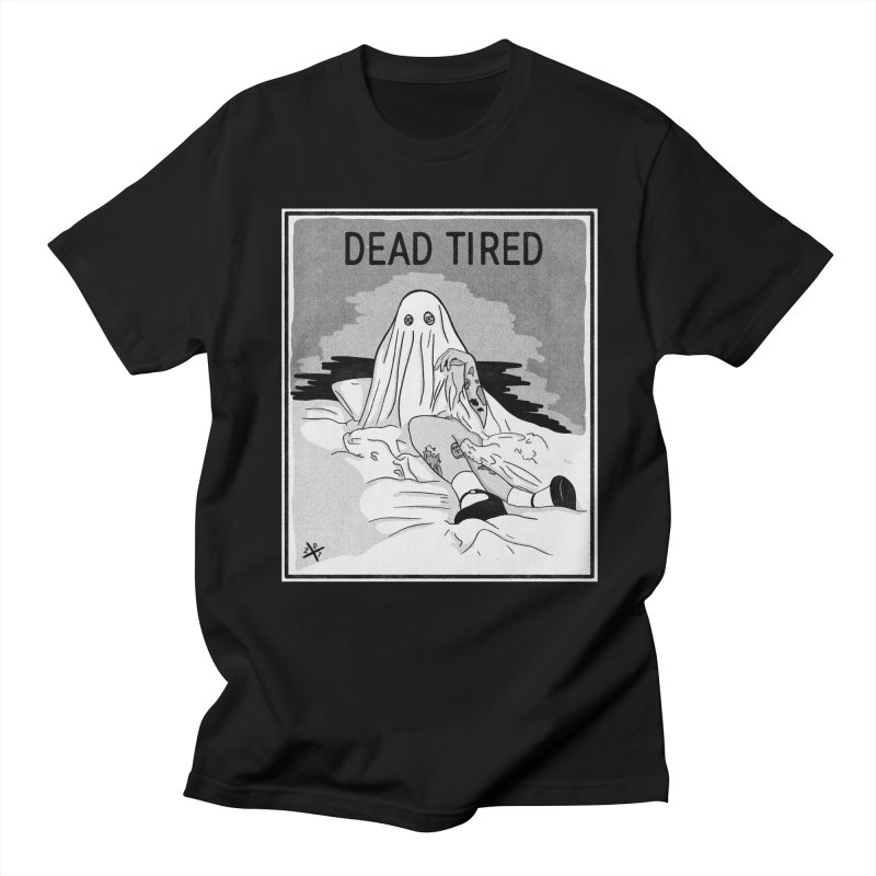 DEAD TIRED Men's T-Shirt by ZOMBIETEETH