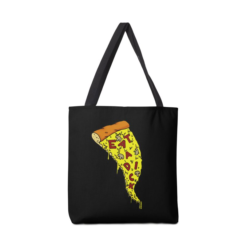 Eat a Dick Accessories Tote Bag Bag by ZOMBIETEETH