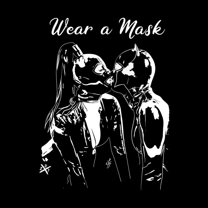 Wear a mask Men's T-Shirt by ZOMBIETEETH