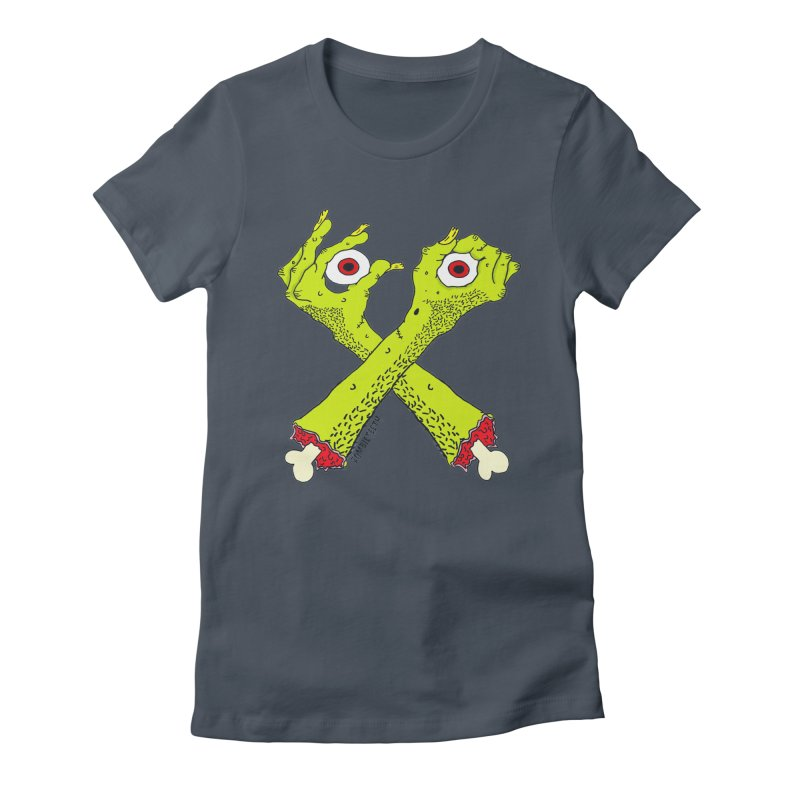 Zombie Arms Women's T-Shirt by ZOMBIETEETH