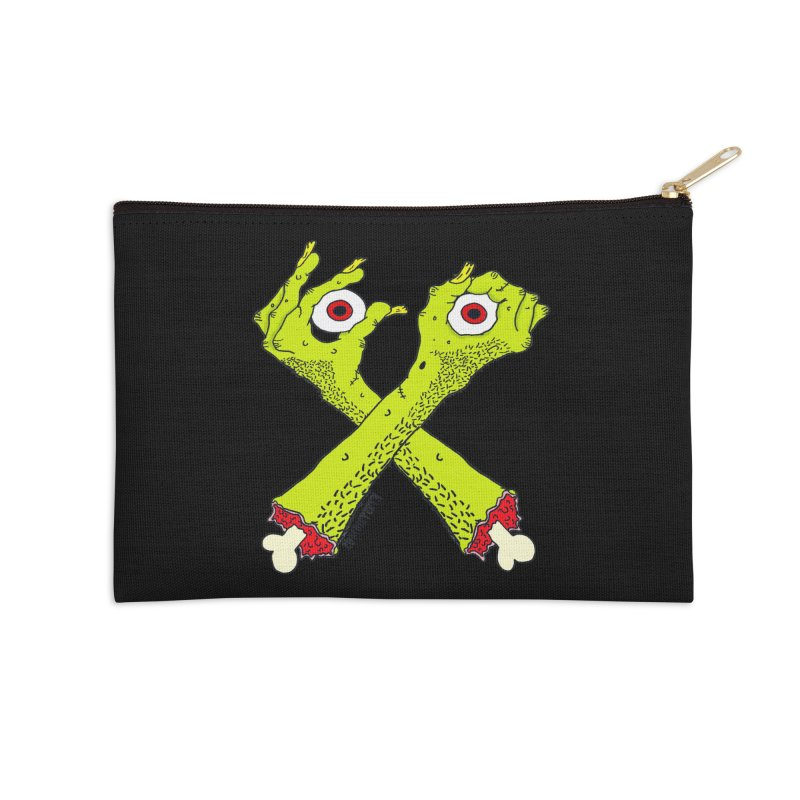 Zombie Arms Accessories Zip Pouch by ZOMBIETEETH