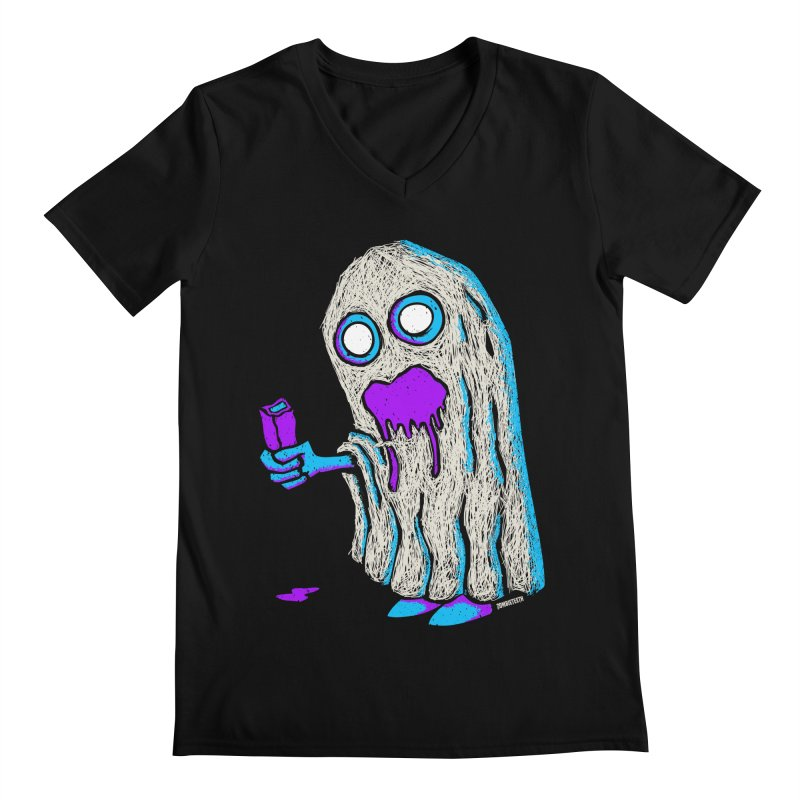 Trick or Treat Men's V-Neck by ZOMBIETEETH