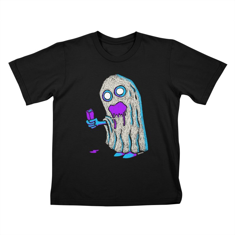 Trick or Treat Kids T-Shirt by ZOMBIETEETH