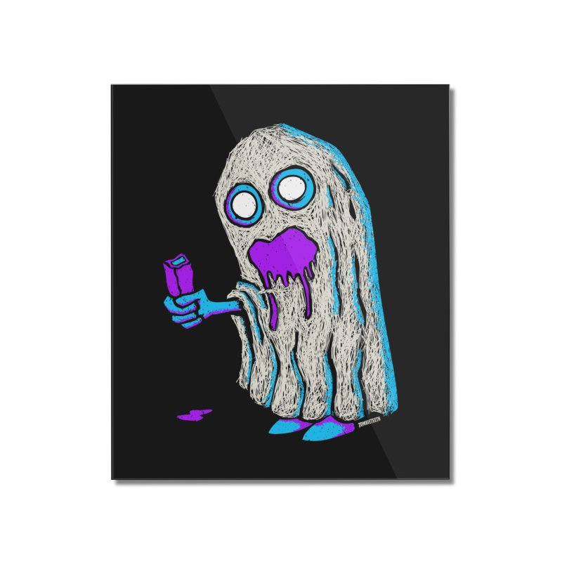 Trick or Treat Home Mounted Acrylic Print by ZOMBIETEETH