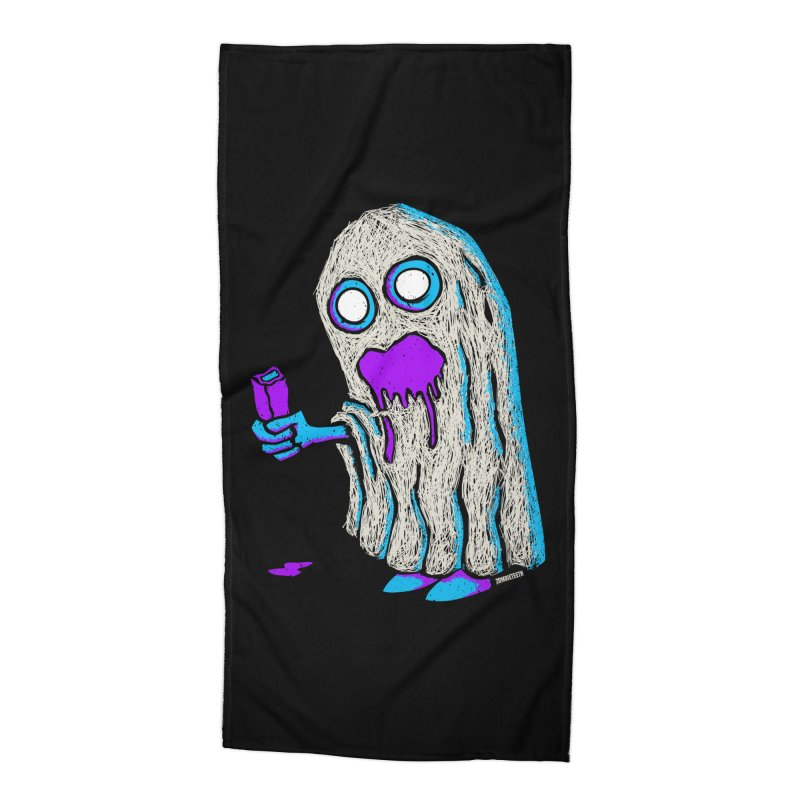 Trick or Treat Accessories Beach Towel by ZOMBIETEETH