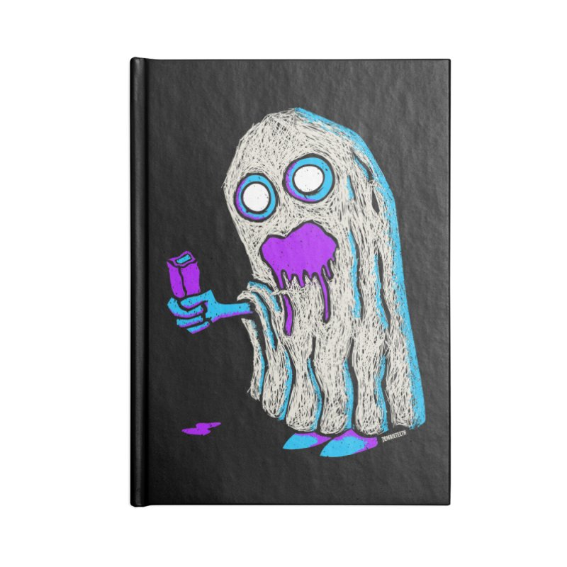 Trick or Treat Accessories Notebook by ZOMBIETEETH