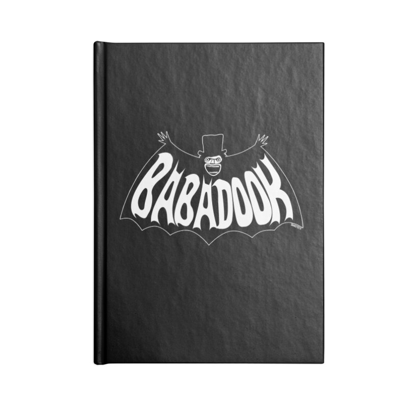 Babadook Accessories Blank Journal Notebook by ZOMBIETEETH