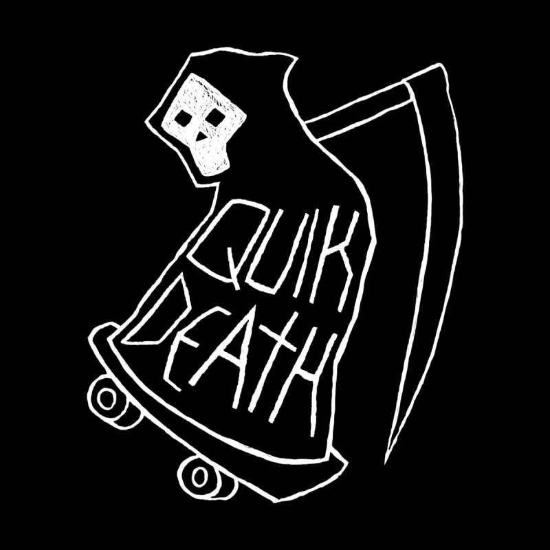 Quik Death Home Fine Art Print by ZOMBIETEETH