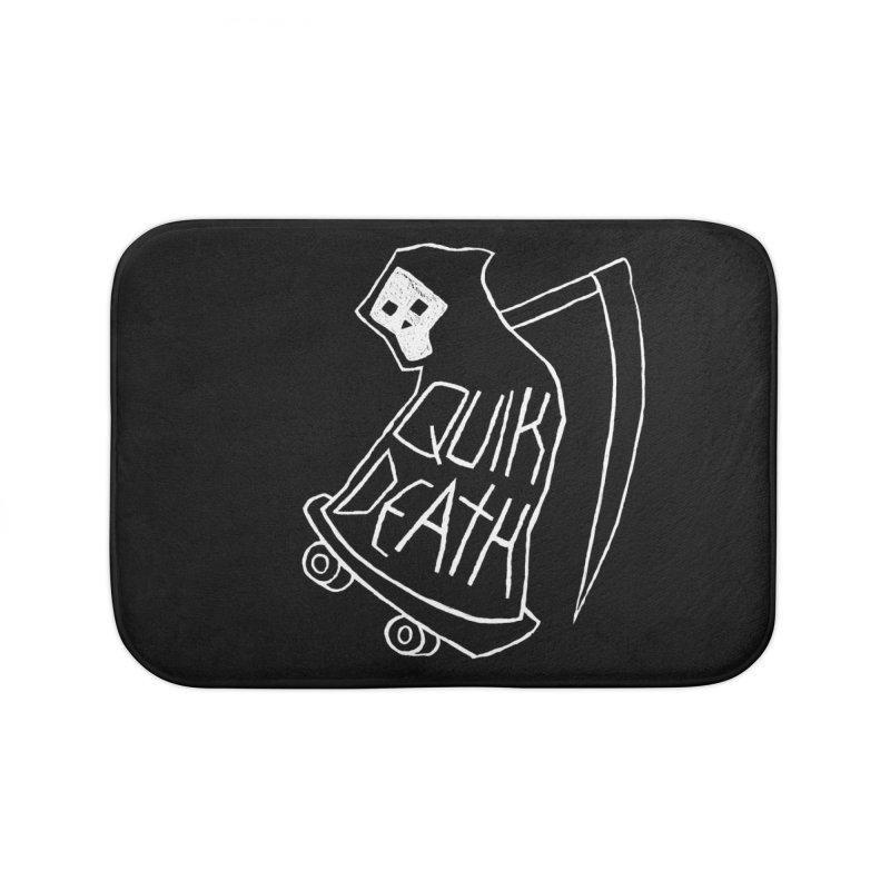 Quik Death Home Bath Mat by ZOMBIETEETH