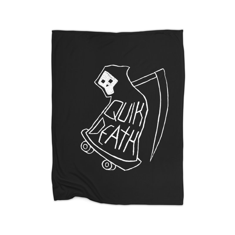 Quik Death Home Blanket by ZOMBIETEETH
