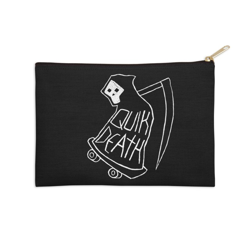 Quik Death Accessories Zip Pouch by ZOMBIETEETH