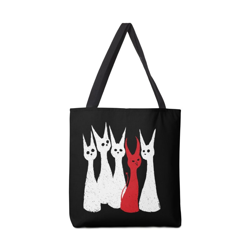 5 Cats Accessories Bag by ZOMBIETEETH