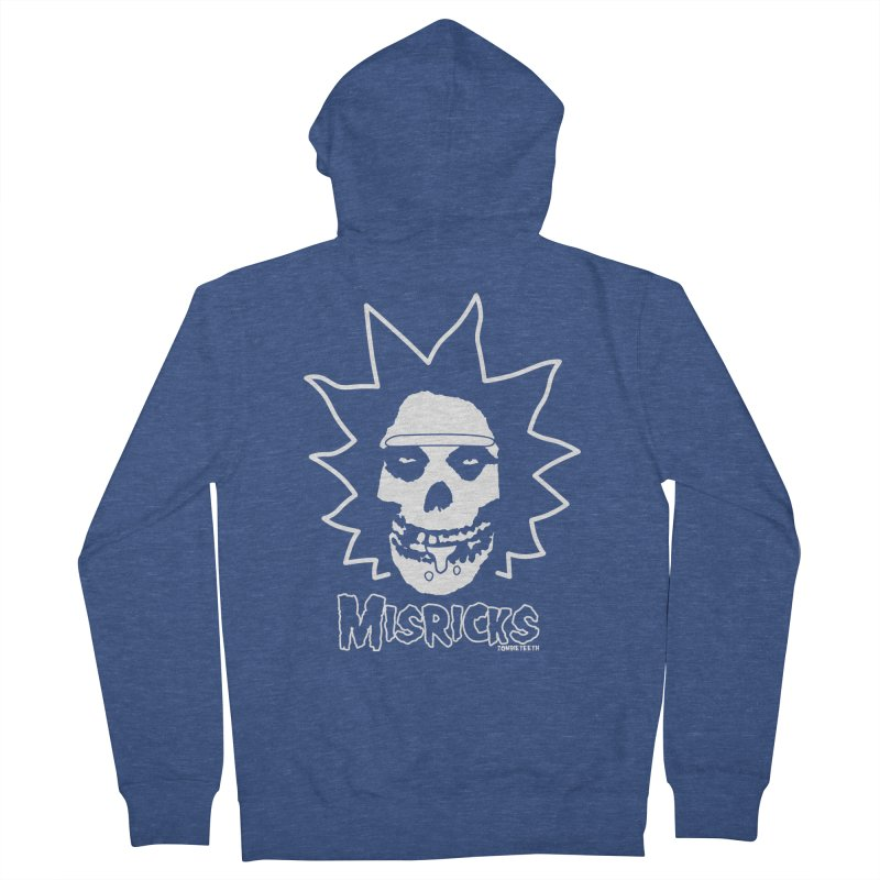 Misricks Men's Zip-Up Hoody by ZOMBIETEETH