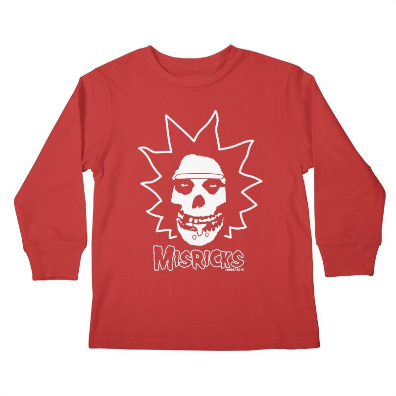 Misricks Kids Longsleeve T-Shirt by ZOMBIETEETH