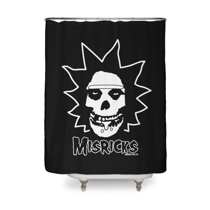Misricks Home Shower Curtain by ZOMBIETEETH