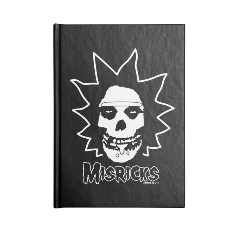 Misricks Accessories Notebook by ZOMBIETEETH