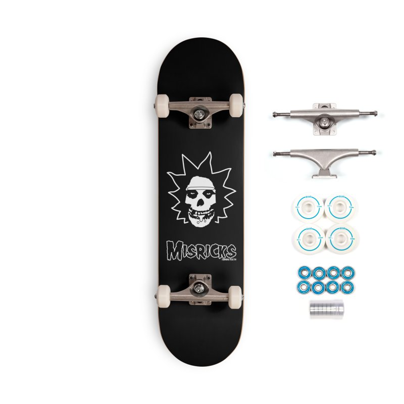 Misricks Accessories Skateboard by ZOMBIETEETH