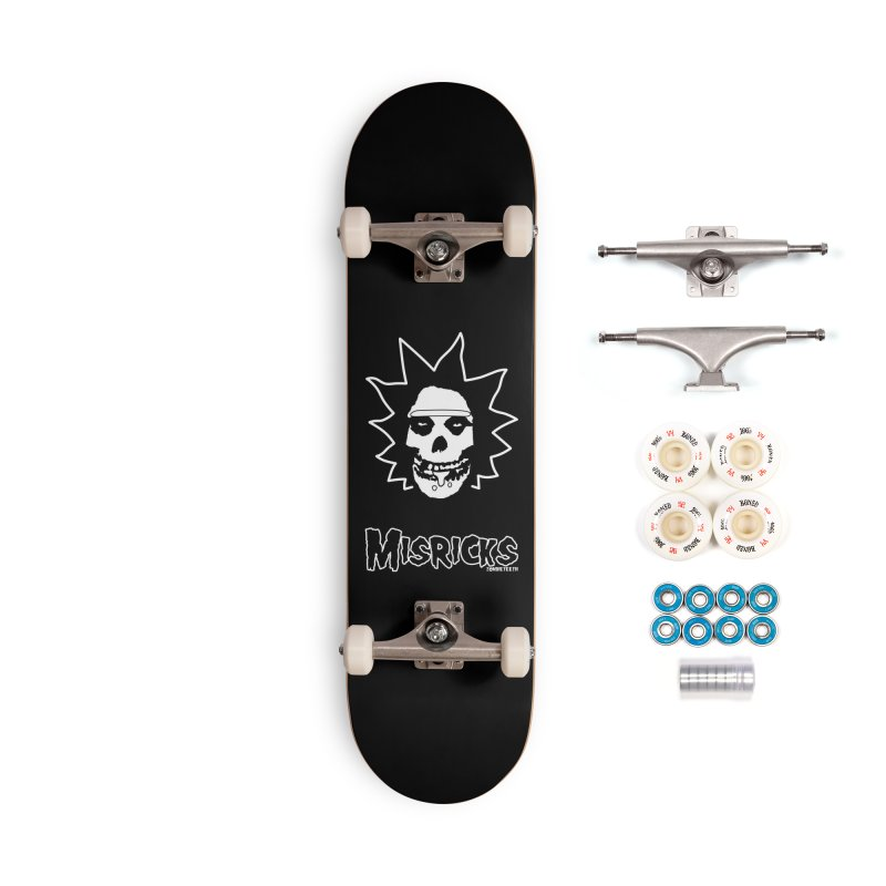 Misricks Accessories Complete - Premium Skateboard by ZOMBIETEETH