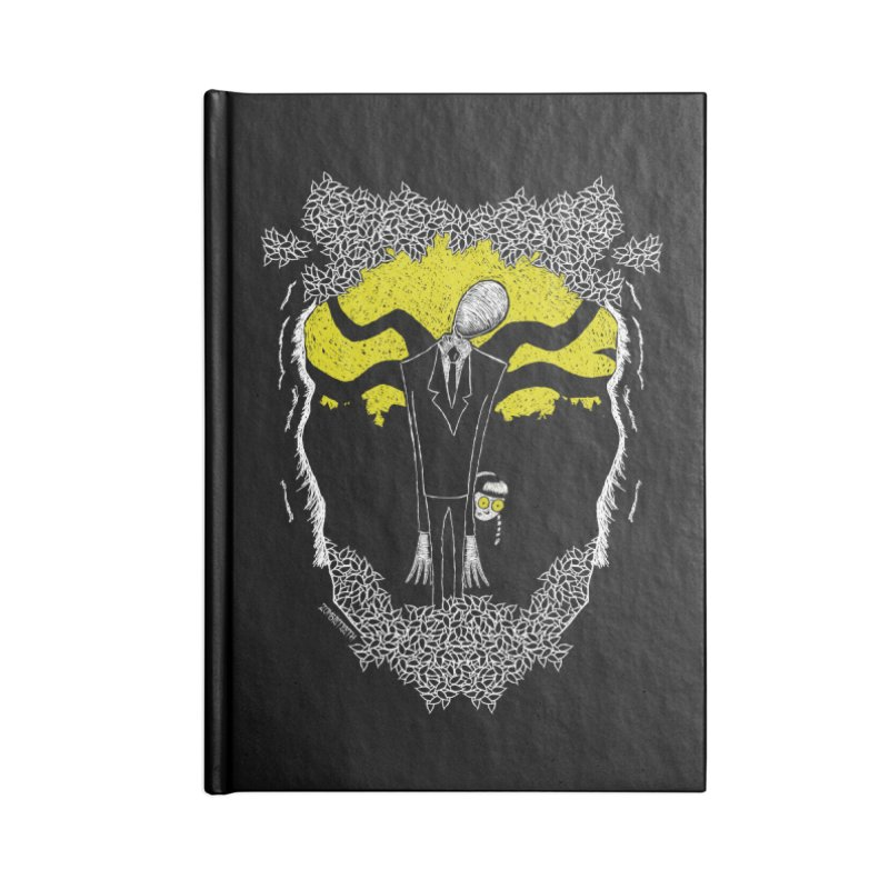 Slender Man Accessories Notebook by ZOMBIETEETH