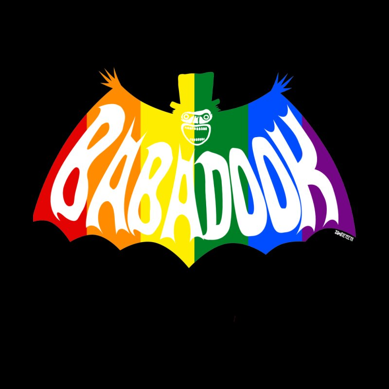 Babadook PRIDE Men's T-Shirt by ZOMBIETEETH