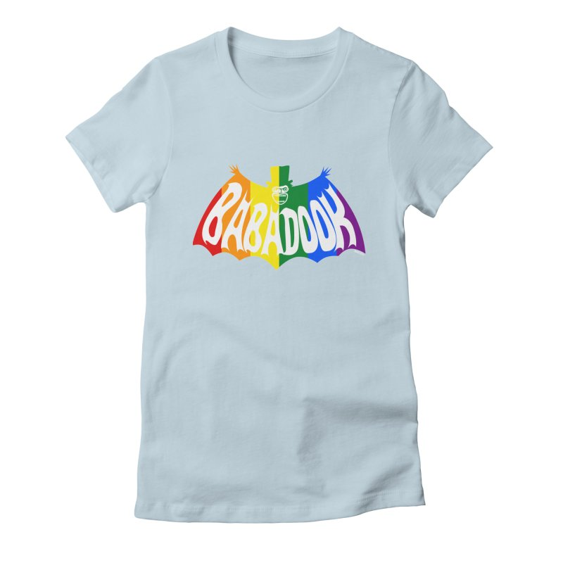 Babadook PRIDE Women's T-Shirt by ZOMBIETEETH