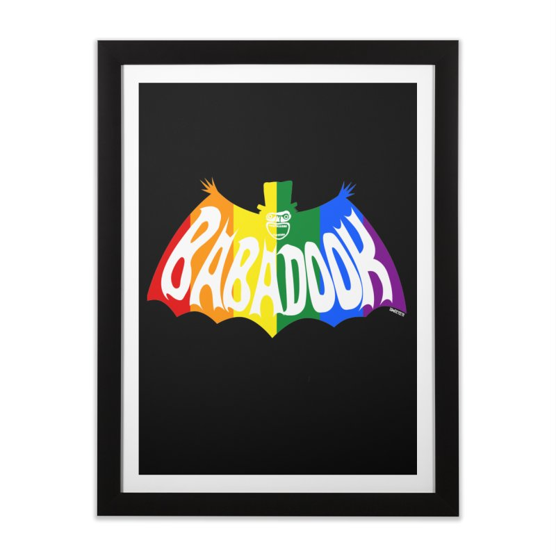 Babadook PRIDE Home Framed Fine Art Print by ZOMBIETEETH