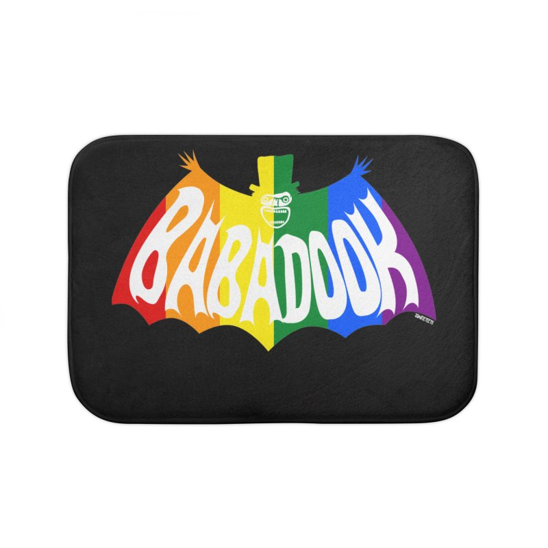 Babadook PRIDE Home Bath Mat by ZOMBIETEETH