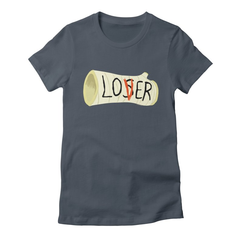 Loser Women's T-Shirt by ZOMBIETEETH