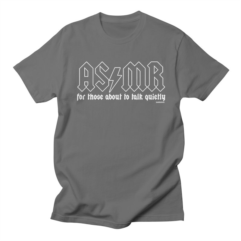 ASMR for those about to talk quietly  Men's T-Shirt by ZOMBIETEETH