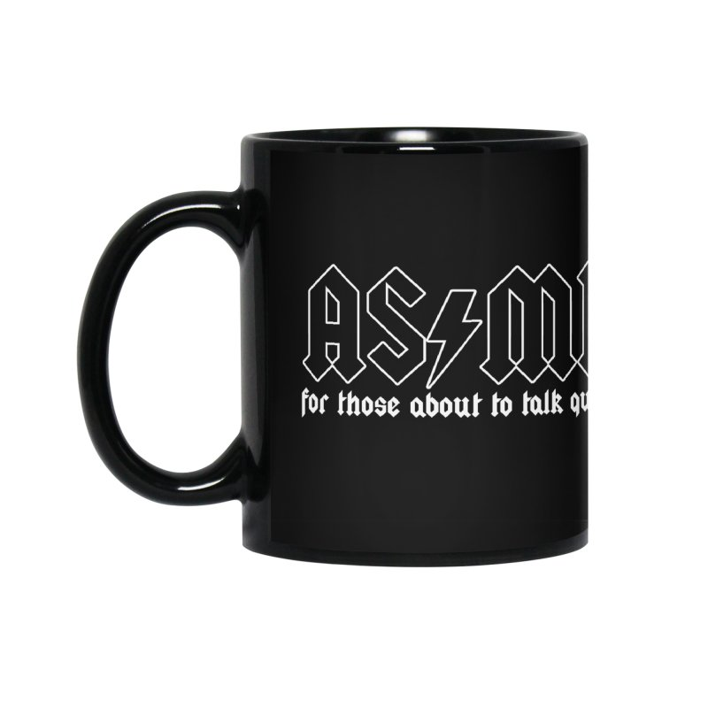 ASMR for those about to talk quietly  Accessories Mug by ZOMBIETEETH