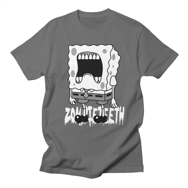 Spongegob Men's T-Shirt by ZOMBIETEETH