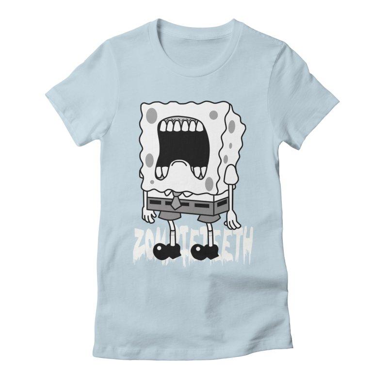 Spongegob Women's T-Shirt by ZOMBIETEETH