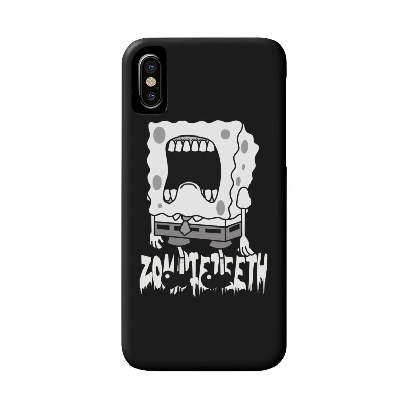Spongegob Accessories Phone Case by ZOMBIETEETH
