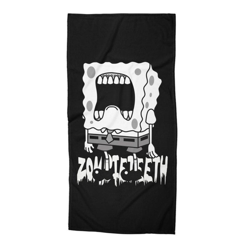 Spongegob Accessories Beach Towel by ZOMBIETEETH