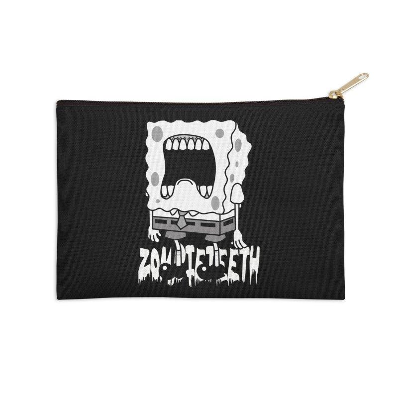 Spongegob Accessories Zip Pouch by ZOMBIETEETH