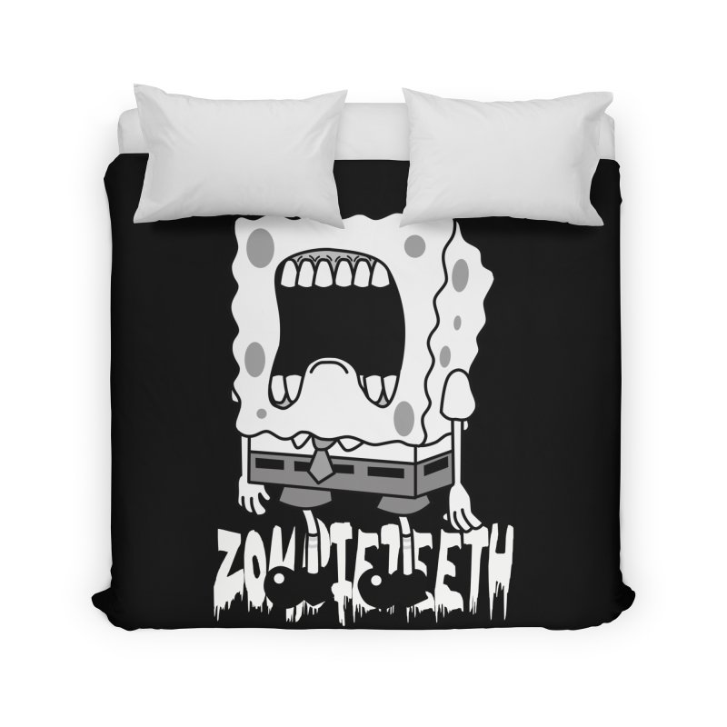 Spongegob Home Duvet by ZOMBIETEETH