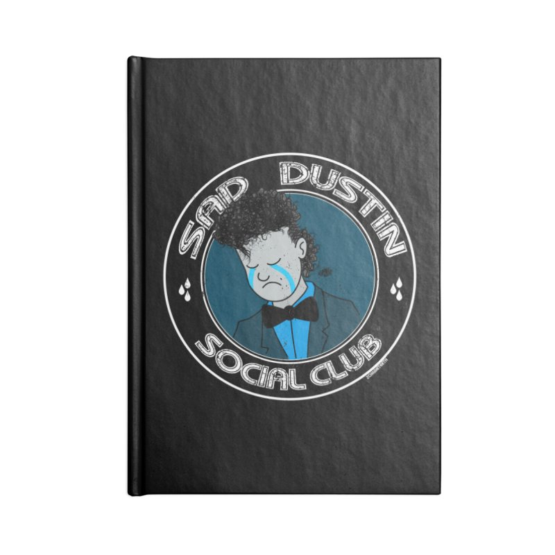 Sad Dustin Social Club Accessories Notebook by ZOMBIETEETH