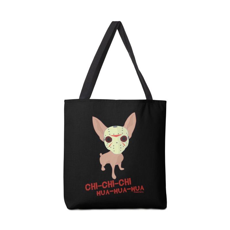 CHI-CHI-CHI HUA-HUA-HUA Accessories Tote Bag Bag by ZOMBIETEETH