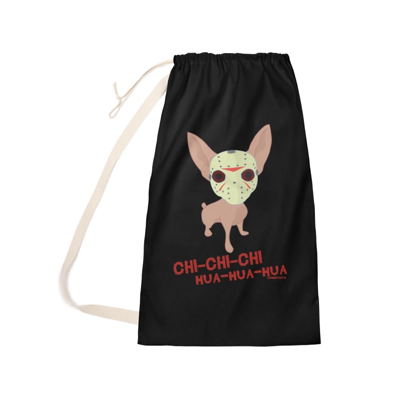 CHI-CHI-CHI HUA-HUA-HUA Accessories Bag by ZOMBIETEETH