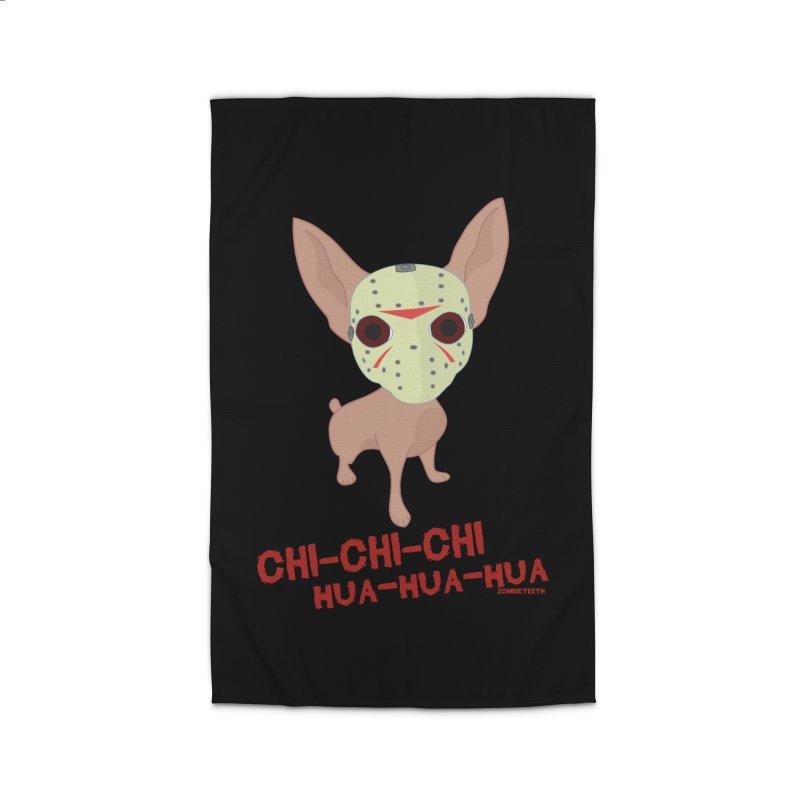 CHI-CHI-CHI HUA-HUA-HUA Home Rug by ZOMBIETEETH