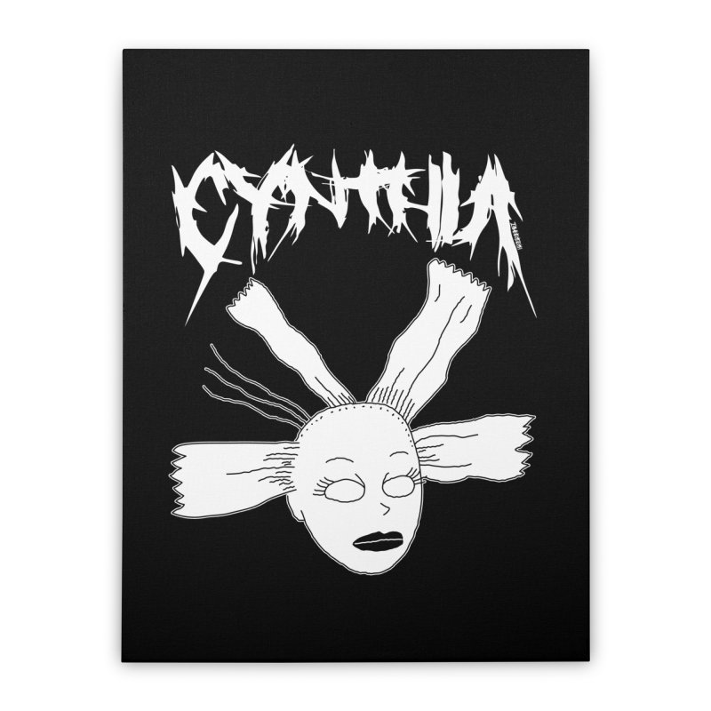 Cynthia Home Stretched Canvas by ZOMBIETEETH