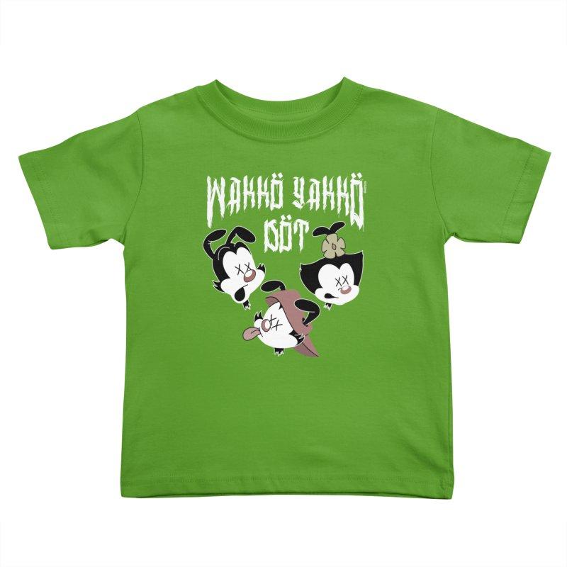 Wakko Yakko Dot Kids Toddler T-Shirt by ZOMBIETEETH