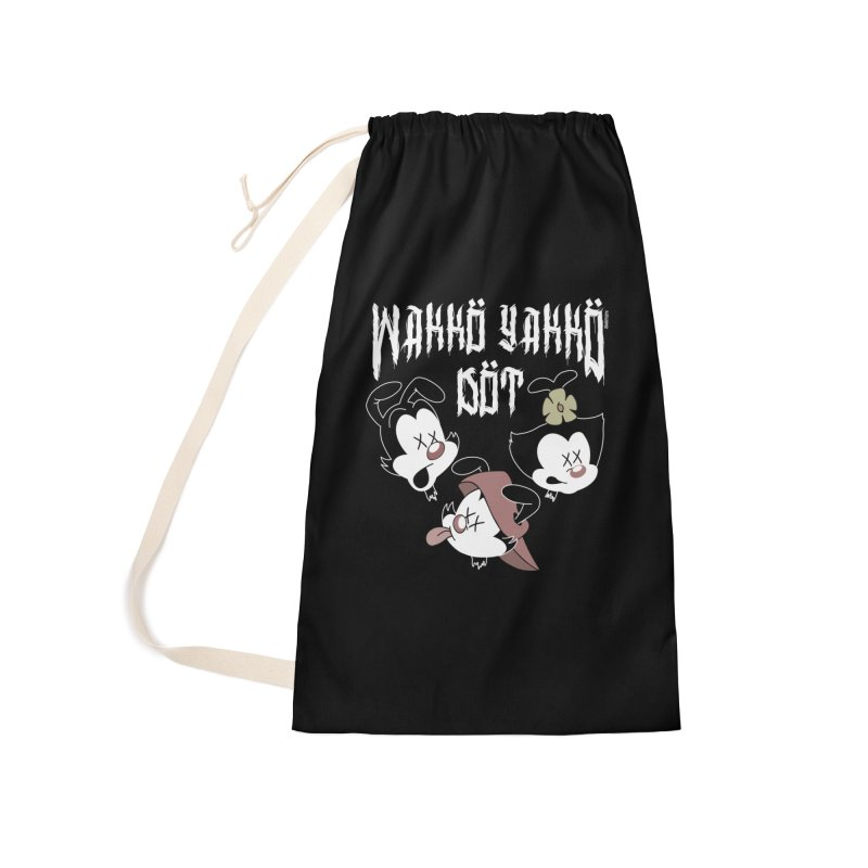 Wakko Yakko Dot Accessories Laundry Bag Bag by ZOMBIETEETH