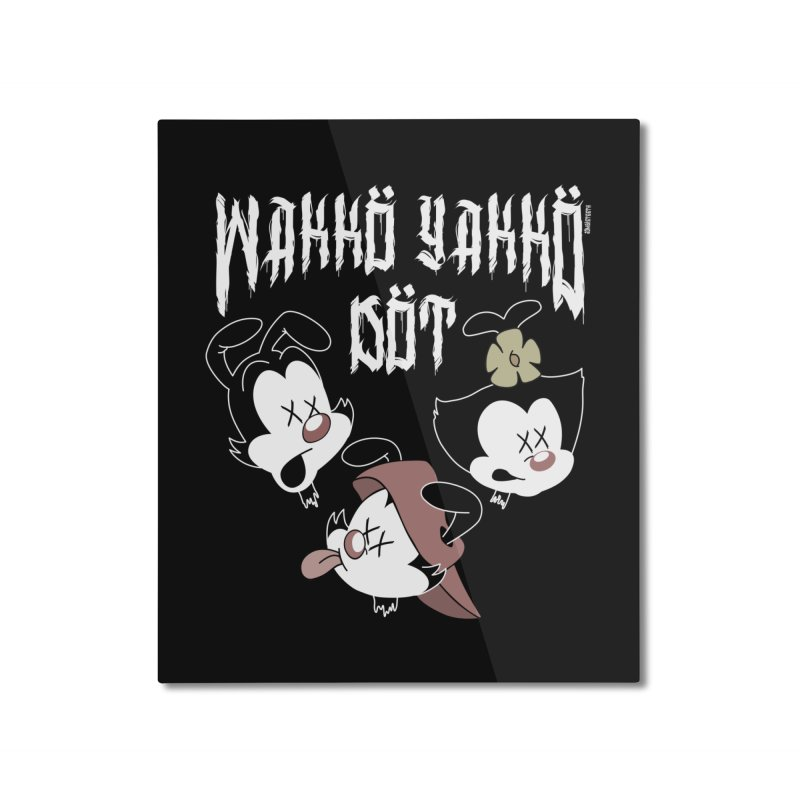 Wakko Yakko Dot Home Mounted Aluminum Print by ZOMBIETEETH