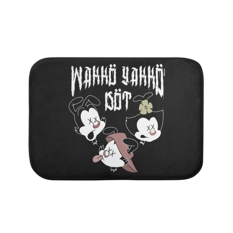 Wakko Yakko Dot Home Bath Mat by ZOMBIETEETH